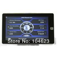 7 Inch Car GPS Navigation Bluetooth AV-IN 128M Build in 4G Memory+Latest Map 719