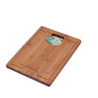 Green eco-friendly natural aseptic bamboo cutting board chopping block sink accessories