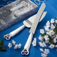 Fashion wedding supplies wedding props duplex cake knife cake knife set
