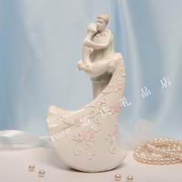 Wedding supplies decoration wedding props cake decoration phototoxity full dress male female Small