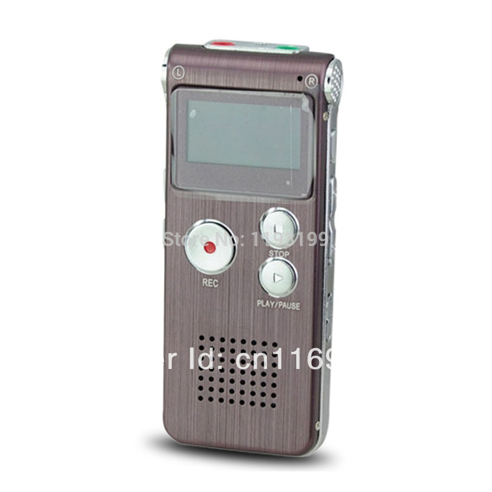 Free Shipping Portable mini Digital Voice Recorder with 8GB/WMA WAV & MP3 Format/USB/Telephone Recording GH-609(China (Mainland))