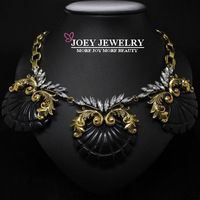 JOEY.2014 New Arrival Retro Necklace Women Exaggeration Luxury Statement Necklace Chokers Necklaces & pendants FreeShipping