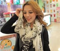 OVO!2014 New Fashion autumn -summer ice silk Scarf women winter warm Tassel Scarf Wrap Shawl scarves