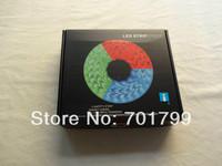 5m DC5V IP33 60leds/m WS2812 led pixel srip+mini RF pixel controller+5V/7A power adaptor lighting kit;BLAKC PCB