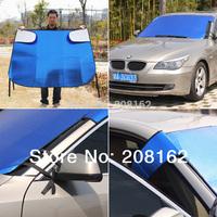Car Sun Shade Window Sunshade Covers Visor Shield Screen Foldable Bubbles Auto Sun Reflective Shade Windshield