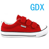 2013 spring classic trend of the all-match lovers velcro canvas shoes