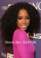 "4X4""  100% Virgin Brazilian hair  Kinky Curly lace closures  Hu-woman Hair with Bleach Knots top lace full closure"