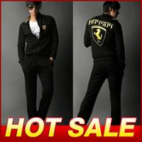 Men Sports Set Hoodies Jacket Fashion Jackets Sports suits hoody Sportswear Jacket+Pants Men's Clothing Hoodies tracksuit X358