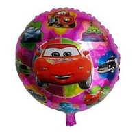 25pcs/lot New Arrival 18inch High Quality Catoon Cars Foil Balloons Birthday Party Wedding Decoration Helium Balloon