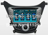 car dvd radio for  Hyundai Elantra 2012 with steering wheel control free shipping
