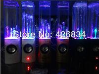 Super Bass Water Dance Bluetooth Speaker Wireless Built-in Battery Bluetooth Speaker Support TF Card Free Shipping