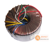 400w audio tokon transformer high power amplifier double 2 46v 9v