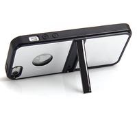Luxury  stand chrome aluminum case metal cover for iphone 5 5g deluxe aluminum case
