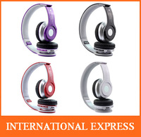 2014 New Arrival Foldable Wireless Bluetooth Stereo Headset Headphones Mic For iphone Samsung HTC Free Shipping