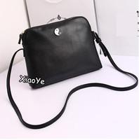 New 2014 Candy Color Women Leather Handbag Retro lady Shoulder bag Women Messenger bag Blosa Free shipping