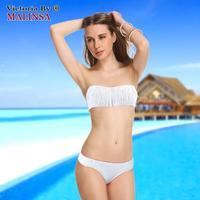 Beach Women swimwear Fringe Bandeau Bikini Set New Swimsuit Lady Bathing suit Fashion Swimwear with the Tag268-112-042