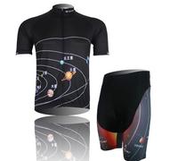 Hot sale!2014 New model Breathe wet quick dry short sleeves mountain bike bicycle cycling wear/jersey + bid shorts CJ012