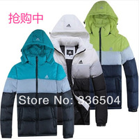 Free shipping New 2014 Men Thicken Winter Outdoor Windbreaker Men's Cotton Padded Jacket Sport Coat mix color size L to 4XL