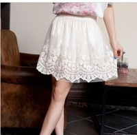 New Arrival Fashion Girls Ball Mini Skirt Women Sexy Lace skirt Summer Autumn Skirt Ladies Short Skirt  free shipping