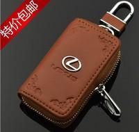 Genuine Leather License Bag Lexus SC430 GX470 RX350 RX400h ES300 GS400 GS470 LS400 wallet purse notecase Car Logo