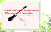 hot selling  2014 new product MAGIC KEY 09 for Guardian 4+4, Elbor-Lazurit- 11 mm (SM)  car locksmith tools auto locksmith tools