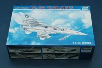 Trumpeter assembled model aircraft 1/48 RA 5C Vigilante 02809 Military simulation assembly model toys 48cm 237pcs