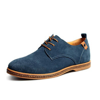 new 2014 men shoes Suede genuine leather oxfords california casual shoes men's sneakers 38-47 Big Size European style RM-001