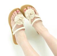 2014 female shoes tea flower flip-flop slippers flip flops sandals