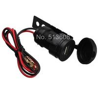 12V Motorcycle Phone USB Charger Power Adapter Waterproof