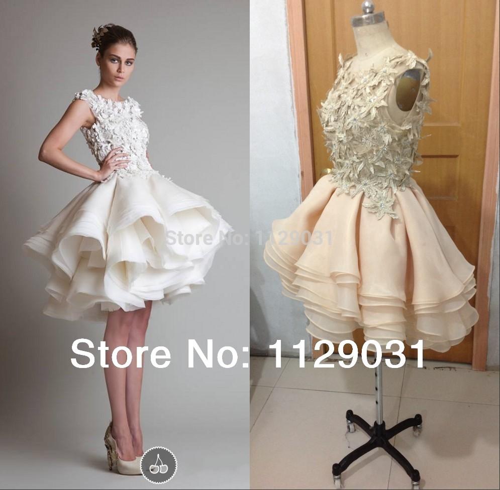 Short Cap Sleeve Wedding Dresses