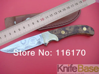 Browning fixed balde knife Classic guard knives virgin forest 58HRC mirror face straight knife Camping hunting knives tools