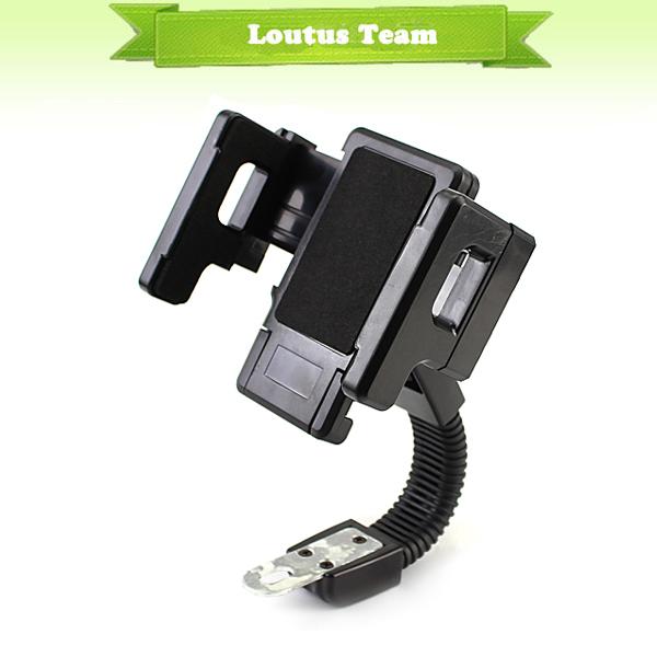 Universal Motorcycle Aotobike Phone GPS Navigation Holder for Samsung iPhone PDA GPS(China (Mainland))