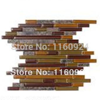 Natural Glass Design tiras Mosaic granito telha de revestimento(China (Mainland))