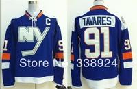 2014 Stadium Series New York Islanders Jerseys #91 John Tavares Blue Mens Ice Hockey Jersey,Embroidery and Sewing Logos