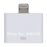 Free Shipping  30 Pin 4G/4S to iPhone5 Converter/Adapter Cleaning White