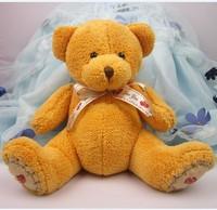 Factory Direct ! New Teddy Bear Teddy Bear plush toy doll tie valentine   15CM