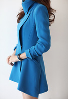 2013 luxury female trench outerwear fashion brief elegant