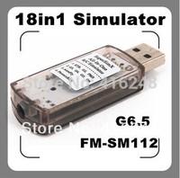 G6.5+18in1 USB Flight Simulator Cable(Phoenix 4.0,RealFlight G6.5 G6/G5.5,Reflex XTR,AeroFly,FMS, CAR VRC2.0)
