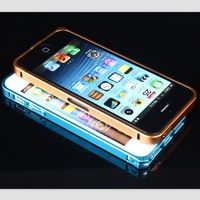 Bumper cases for Apple 5 i5 Case for iPhone 5S 5 5G 0.7mm Luxury Metal Aluminum Bumper For iPhone5S