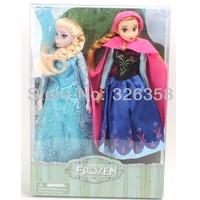 New arrival Frozen classic dolls,Princess Anna and Elsa dolls,dolls for girls,best gift fir kids,2 pcs/set