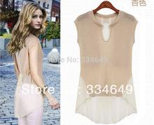 2014 nova moda plus size camiseta mulheres roupas de verão Sexy tops tee roupas blusas camisetas frete grátis # 5825(China (Mainland))
