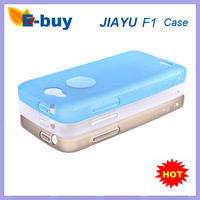 free shipping Original Silicon case for Jiayu F1 MTK6572 phone