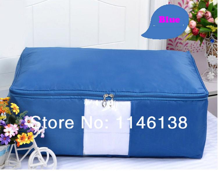 4 oxford couleurs grande capacité de stockage peut être lavé/organisateur de sacs pour quilt/literie,/vêtements