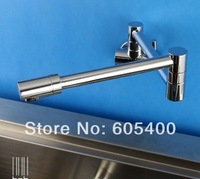 Free shipping copper wall into the cold water tap kitchen faucet basin sink faucet