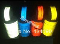 3M Reflective Sticker/ tape Decoration Stripe 1cmx45.7m/roll Luminous Tape Reflective Strip(Original 3M)