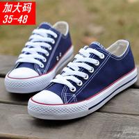 Canvas shoes male shoes low shoes casual fashion plus size extra large 44 45 46 47 48