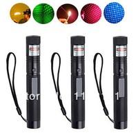 20143pcs New 10000mw G303 532nm Green + 650nm 10000mw Red +405nm 1000mw Blue violet Laser Pointer Pen Adjustable Focus Burning M