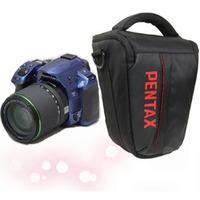 Trigonometric portable slr camera bag pentax kx k7 k5 k30 kr bowline hd-1 belt rain cover