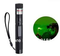 2014New 301 Focus 532nm 10000mw Green Laser Pointer Pen Lazer Beam Adjustable Beam burn match free shippng!