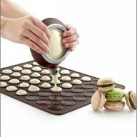 48 Large Macaron silica gel Free shipping!! MARCARON SPECIAL Silicone Pad  Food Grade Silicone Pad,X861